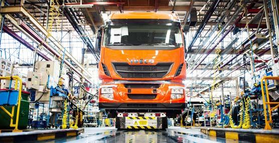 Iveco ratifica en  el primer semestre su primacía en el mercado español de vehículos de más de 3,5 toneladas