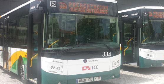 TCC Pamplona incorpora tres autobuses urbanos Scania a su flota del Transporte Urbano Comarcal