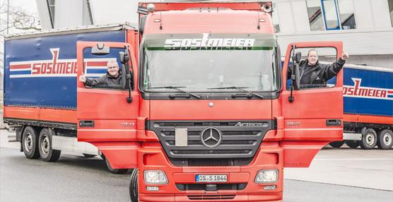 40 unidades Mercedes-Benz Actros son adquiridas por la empresa germana Sostmeier GmbH & Co.