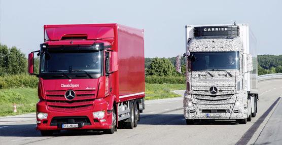 Los camiones Mercedes-Benz, precursores en sistemas de seguridad y de asistencia a la conducción