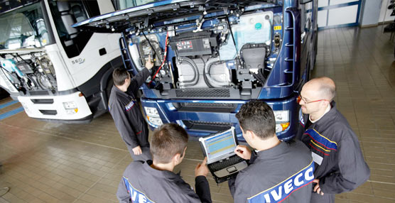 Iveco elige España para poner en marcha un programa de mejora de la atención al cliente en sus talleres