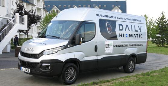 """El Iveco Daily, premiado en Alemania como """"mejor vehículo para el transporte"""""""