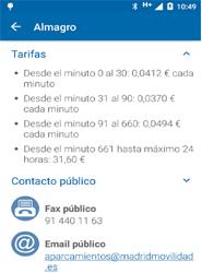 Una nueva app de la EMT de Madrid ofrece información completa y en tiempo real de 58 aparcamientos públicos en la ciudad
