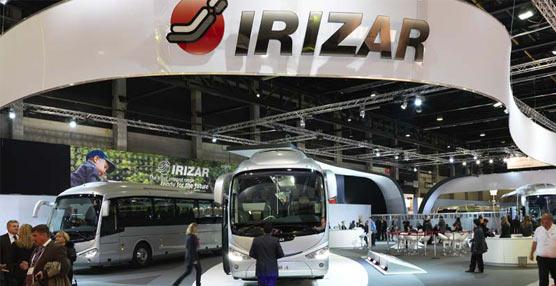 La compañía Irizar presentará el Busworld 2015 su nuevo autocar de última generación el Irizar i8