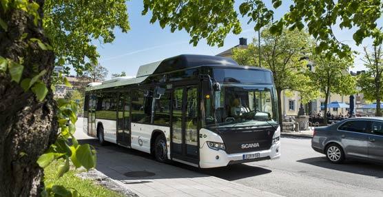 Scania presentala gama más amplia del mercadoen vehículos de combustible alternativoen Busworld
