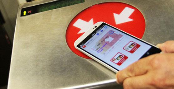 Valencia es la primera ciudad en Europa en el acceso al transporte público a través del teléfono móvil