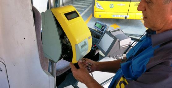 Guaguas Municipales retirará de sus vehículos las máquinas canceladoras para los bonos de cartón