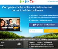 Confebus solicita la suspensión cautelar de las actividades de transporte de Blablacar