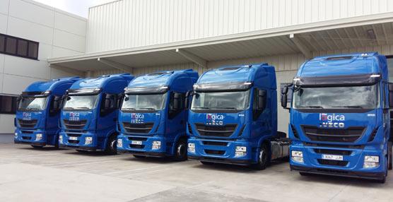 La empresa de transportes burgalesa Lógica Aranda amplía su flota con cinco nuevos camiones Iveco Stralis Hi-Way