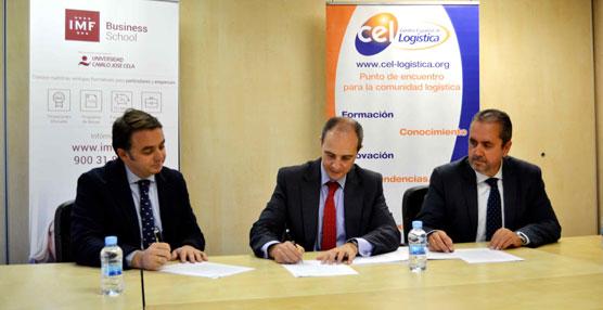 El Centro Español de Logística e IMF Business School potencian la formación en el Sector
